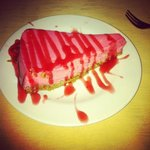 strawberry cheesecake.... yum yum!