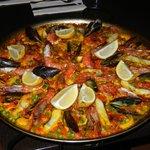 Paella de pescado (di pesce)