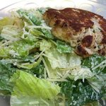 Ceasar Salad with Crab Cake