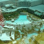The mandalay bay and four seasons wave pool