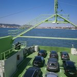 Travessia de Ferry Boat - Tróia p Setúbal