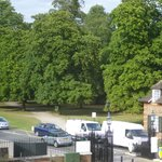 view from room - Bushy Park