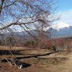 Vista da propriedade proximo a cabana.