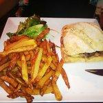 Burger gersois (au foie gras) délicieux...