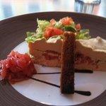 gâteau de foie gras! à tomber!