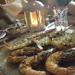 grigliata di scampi e gamberoni