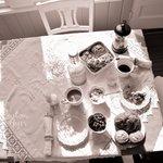 Breakfast in the Tea Room