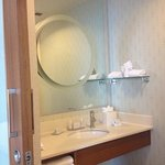 shower area sink
