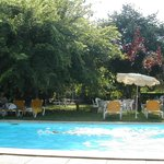 ombre autour de la piscine