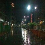 MG Road at Night