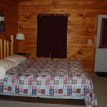 Inside Cant Dog Cabin