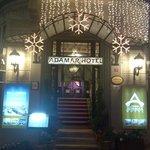 Adamar Hotel entrance