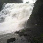 Ithaca Falls up close and personal...