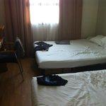 Vista camera da letto.. occhio al terzo letto scomodissimo