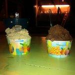 Montaña de helado...