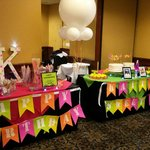 Favor, Glow Accessories and Cake table