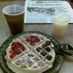 Desayuno Waffles
