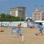 Umkleidemöglichkeit am Strand