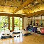 Yoga & fitness classroom