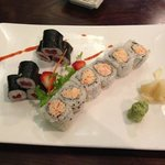 tuna roll & Alaskan crab roll