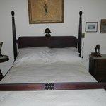 Mrs. Wilson's bed