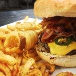 Spicy western burger