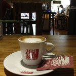 the best double Machiato in Ubud ....the only place here to drink good coffee