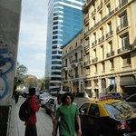 Área do centro ao redor do Hotel