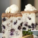 Everyone loves Hobee's world-famous blueberry coffeecake!
