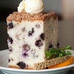 Don't miss the world-famous blueberry coffeecake!