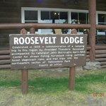 Roosevelt Lodge, northeast side of park