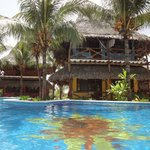 Swimming pool and the rooms
