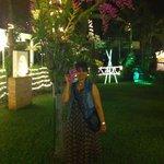Good restaurant in a beautiful garden