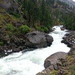 Icicle Creek (near start of hike)