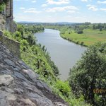 View of the Vistula from Benedictine Abbey, Tyniec