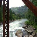 Wenatchee River from the bridge