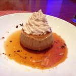Coffee flavored flan