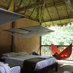 Our room at Tombopata
