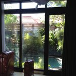View from inside 1br pool villa