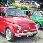 our wonderful fiat 500 !