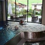 un coin de piscine