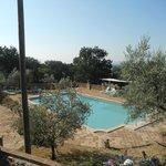 Veduta della piscina