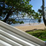 Hammock next to beach