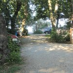 Acces du camping à la plage.