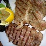 Un secondo del menù fisso...ottima carne.