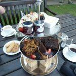 Our delightful afternoon tea