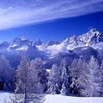 Sesto Dolomites in the wintertime