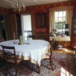 Harborside House B&B guest dining room