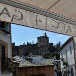 Vistas de La Alhambra desde el bar