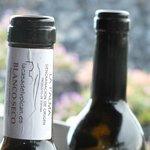 El Vino blanco de la variedad Bujariego.